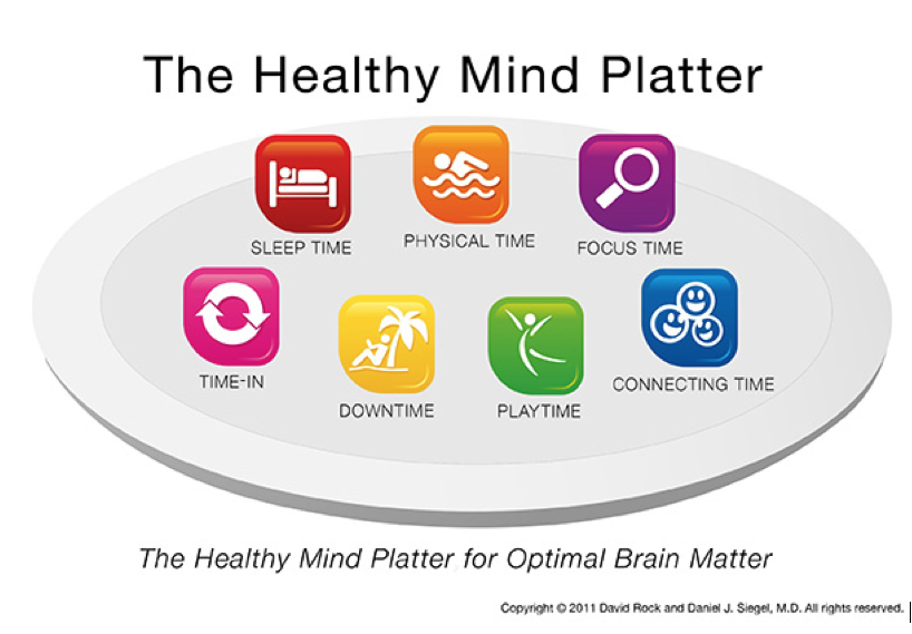 Healthy Mind Platter For New Parents  Centre For Perinatal Psychology Emotional Wellbeing And New Parenthood The Healthy Mind Platter